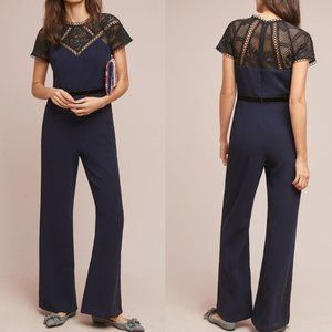 NEW Anthropologie Blenheim Lace Jumpsuit